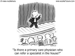ACA Innovation Part 4:  The Changing Face of Primary Care.  Bad for Practitioner and Patient..