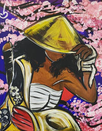 Cherry Blossom Warrior