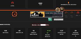 15`Faceit 2,582 Elo | 1.37 K/D | 22 AVGK | 10 & 5 Coin | 1,269 Hours |