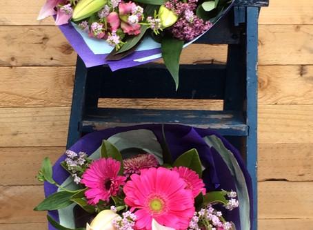 Twin Bouquets!