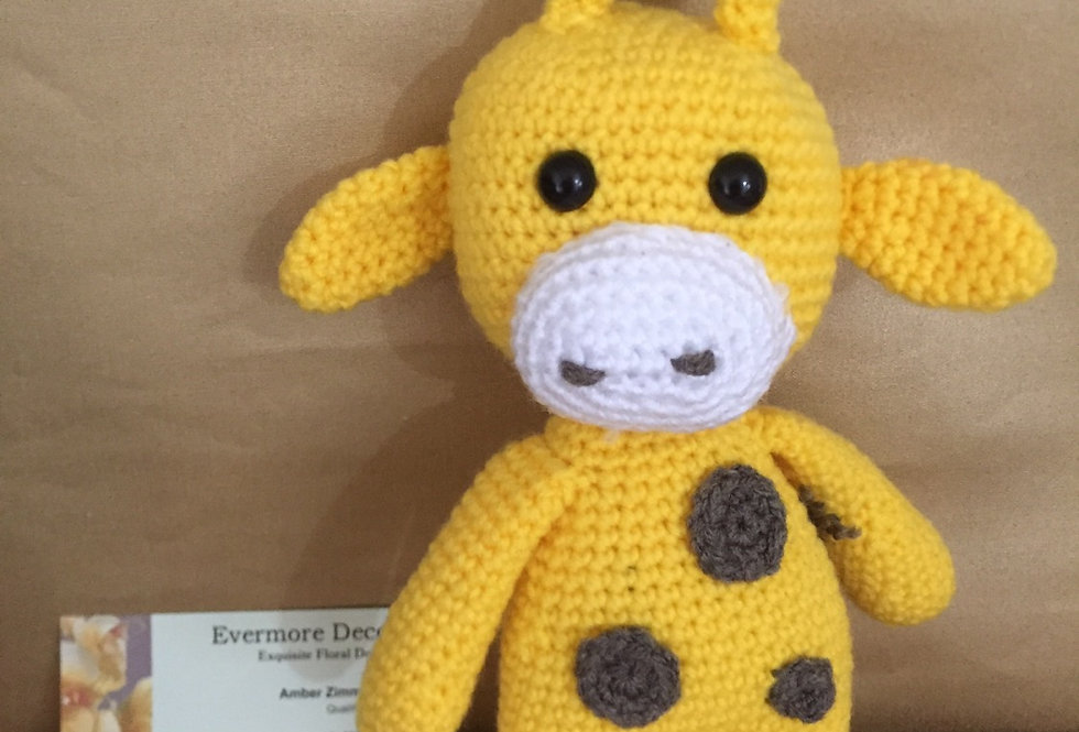 Giraffe Crochet Toy