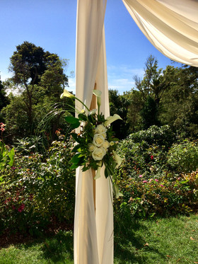 Photo by Evermore Floral Designs @ Melrose House and cafe