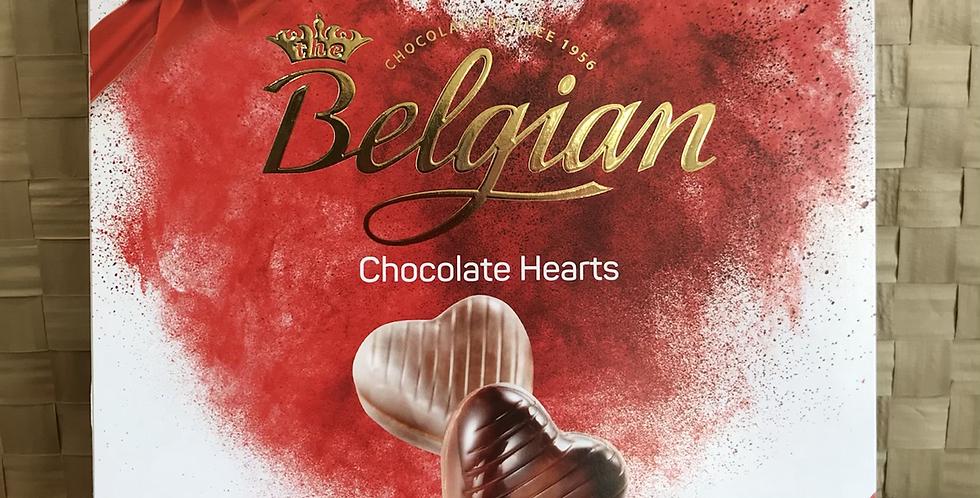 Belgian Heart Chocolates