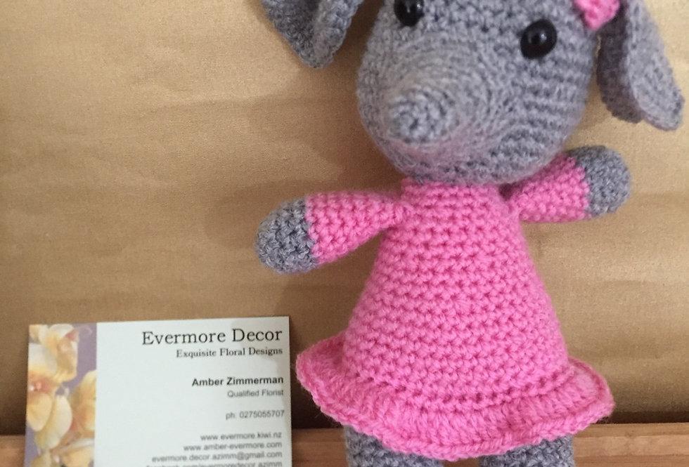 Ellephant Crochet Toy