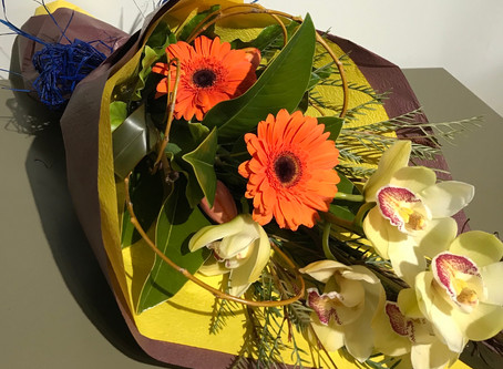 A few Floral designs Delivered this week