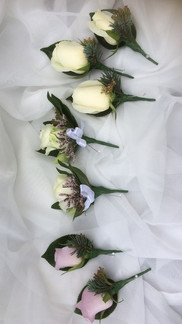 Button Hole and Corsage