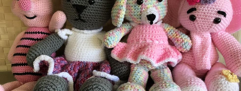 Large Crochet Toys