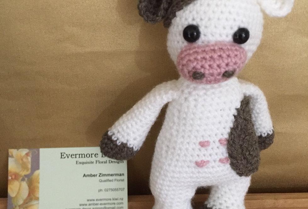 Cow Crochet Toy