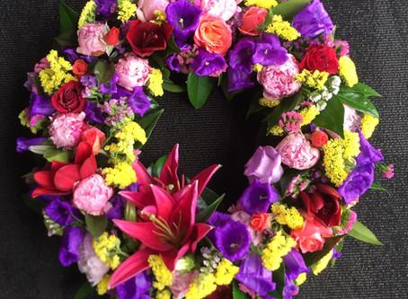 Colourful Bright Wreath