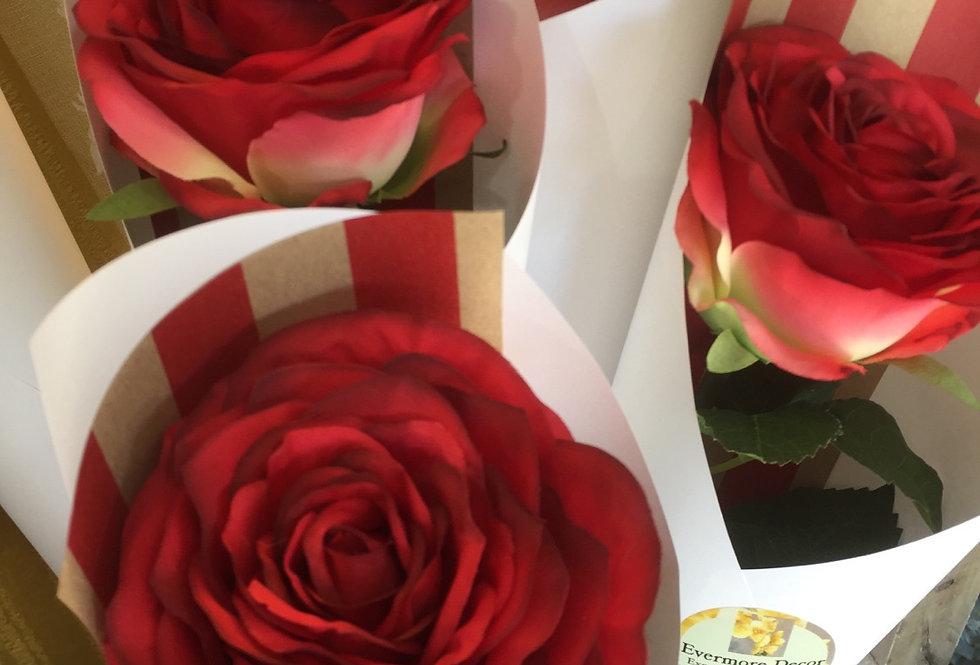 Single Artificial Rose