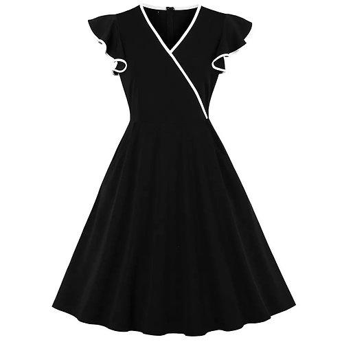 Vestido V Linha Branca