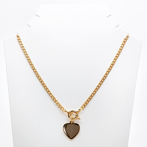 Colar Chained Heart