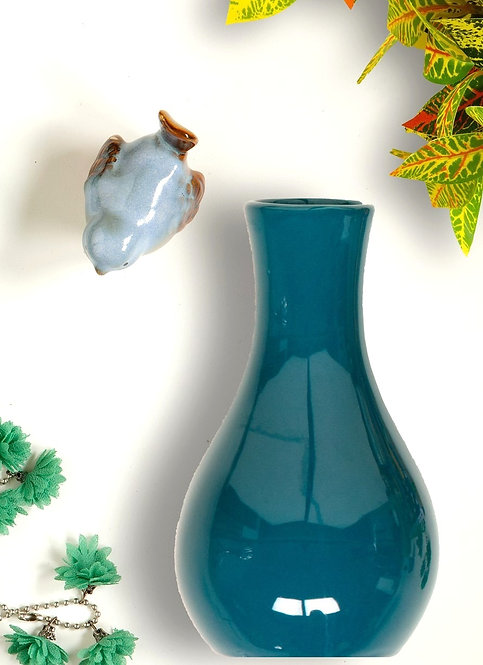 Vaso Drop Shape Glazed