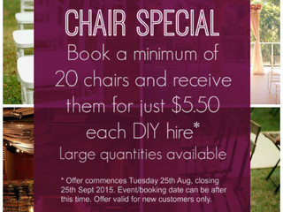 HUGE CHAIR SALE