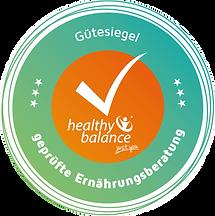 gütesiegel healthy balance, geprüfte ernährungsberatung sinsheim, zertifizierter ernährungsberater sinsheim, ernährungsberatung