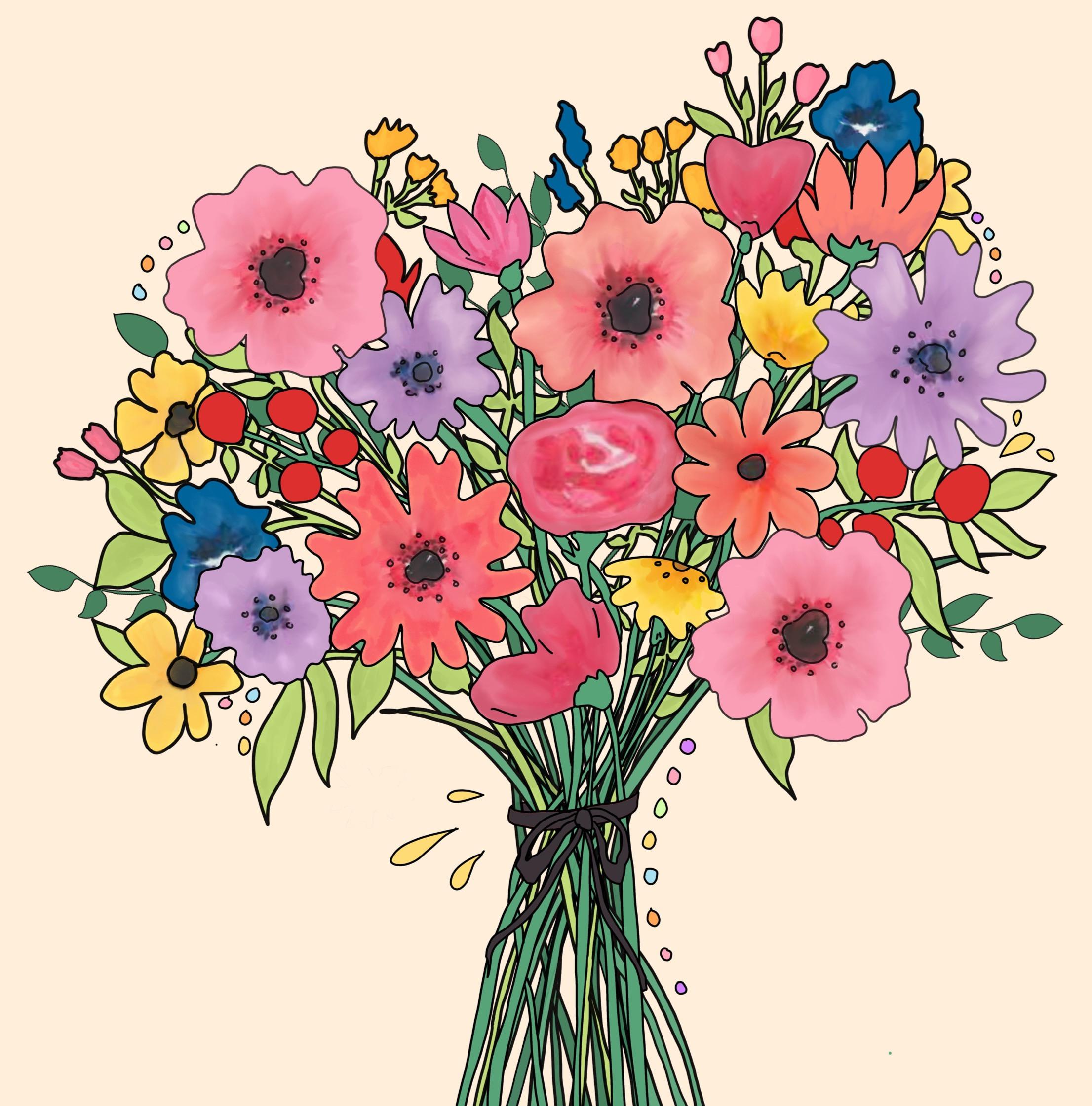 Ein Blumenstrauss voller Ressourcen