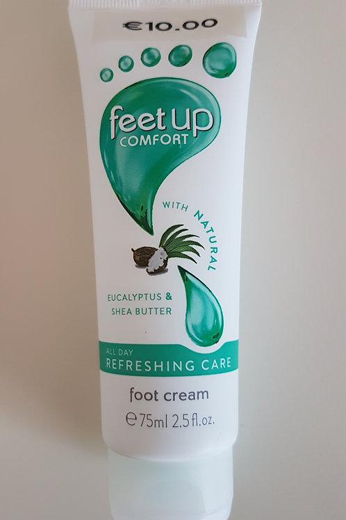 verfrissende voetcreme