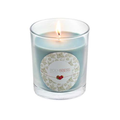 cosy candle green