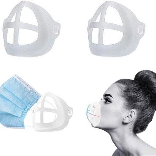 Mondmaskerhouder om beter te kunnen ademen bij dragen van Mondkapje