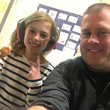 happy student and teacher