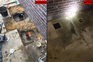 Replacement of two gullies in NW6, Hampstead
