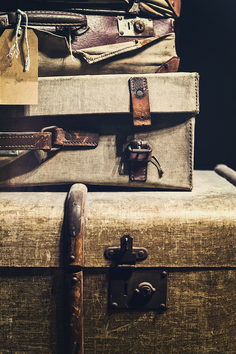 Old Luggage - Natalie Kinnear Photography