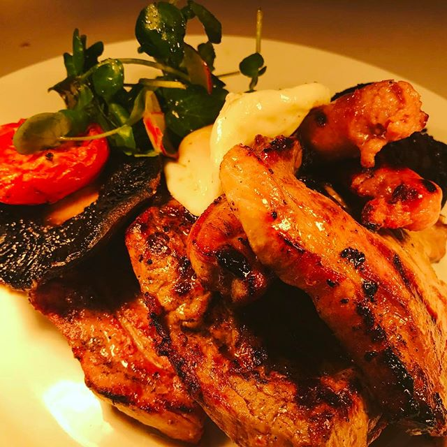 Cue meat sweats!! Our mixed grill on its way to a hungry customer! £16