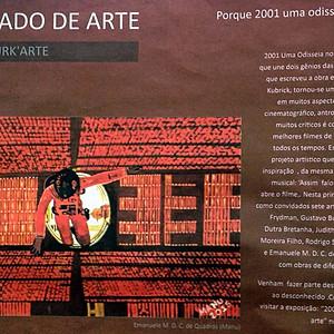 Exposição Coletiva: 2001 Uma Odisseia da Arte 01 - Ateliê Burk´Arte - 2015