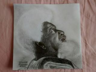 Desenho de Rosto do Wole Soyinka!!!