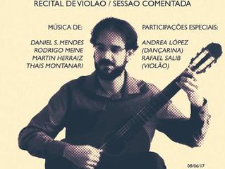 Recital de violão - Daniel S. Mendes