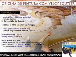 Oficina de Pintura com Velcy Soutier!!!