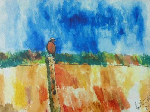 O Pássaro de Gustavo Burkhart