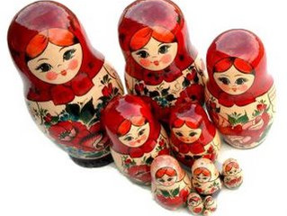 Como um exercício de metafisica de bonecas russas o conteúdo se revela......
