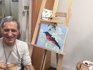 4ª Oficina de Pintura com Velcy Soutier!!!