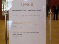 Fonèka - Roma 23 marzo 2014