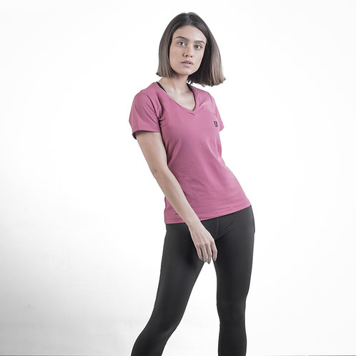 Camiseta IR Basic V Old Rose