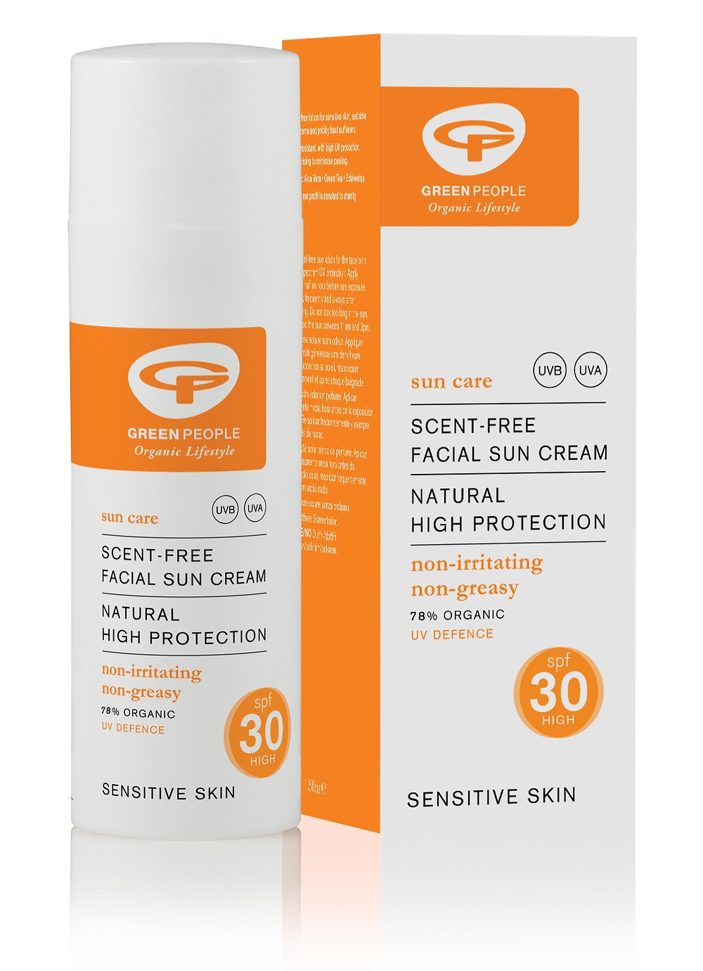 Green People Scent Free Facial Sun Cream