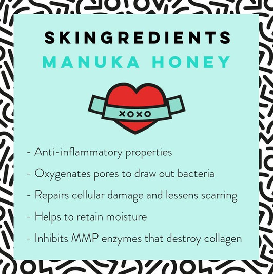 Manuka Honey Skin Care Benefits