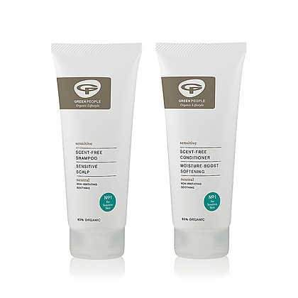 Green People Scent Free Shampoo and Conditioner Set