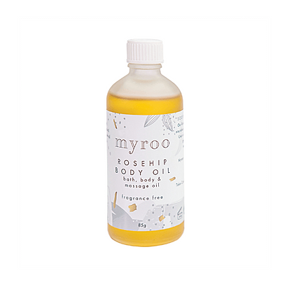 Myroo Fragrance Free Rosehip Body Oil