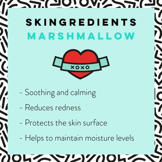Marshmallow Skin Care Benefits