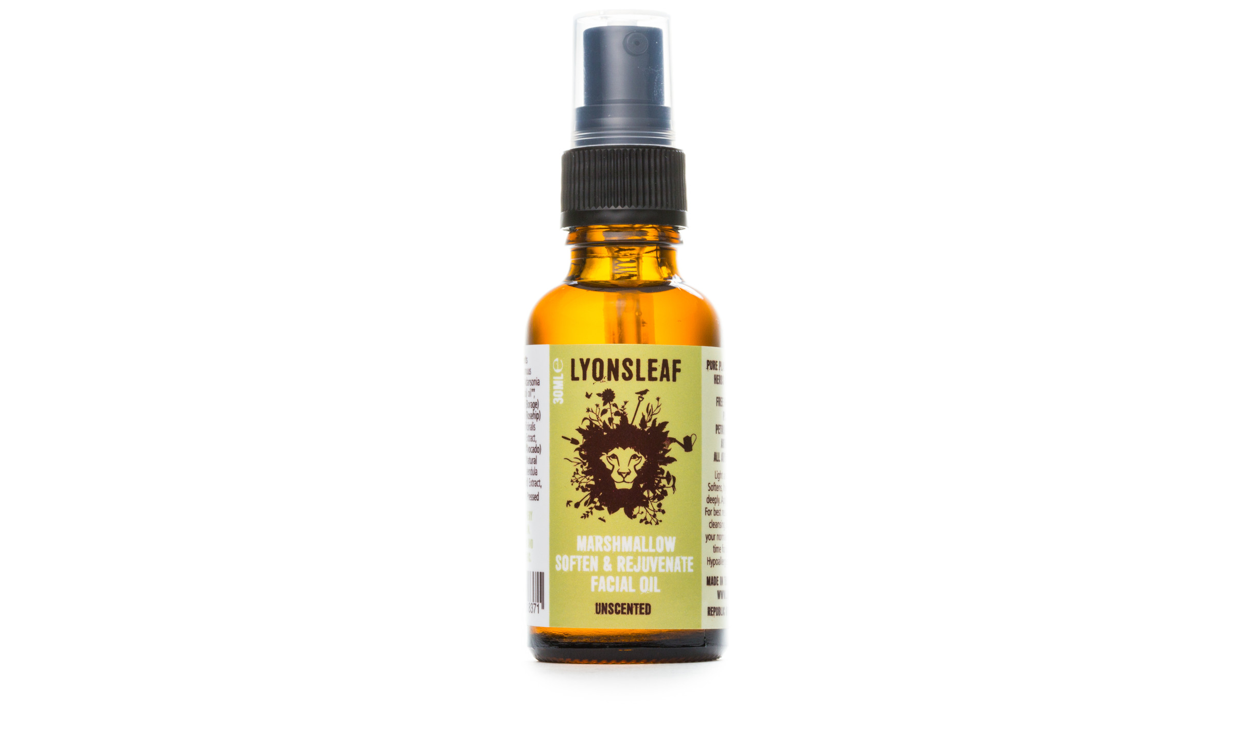 Lyonsleaf Marshmallow Facial Oil with Calendula