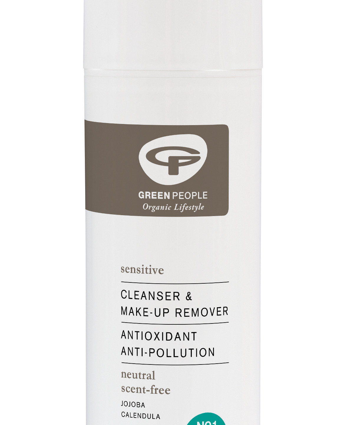 Green People Sensitive Cleanser & Make-up Remover with Calendula