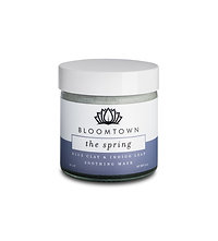 Bloomtown Blue Clay Mask with Indigo Leaf