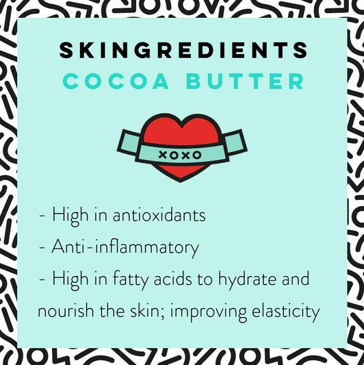 Cocoa Butter Skin Care Benefits