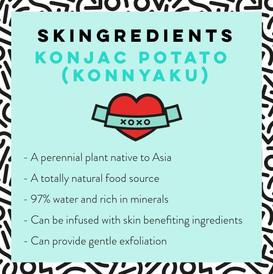 Konjac Skin Care Benefits