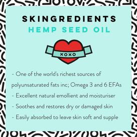 Hemp Seed Oil Skin Benefits