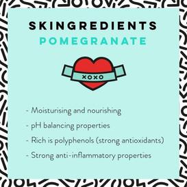 Pomegranate skin Care Benefits