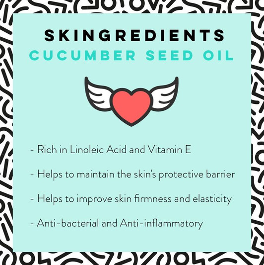 Cucumber Seed Oil Skin Care Benefits