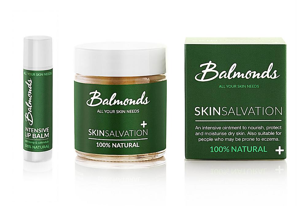 Balmonds Skin Salvation Balm and Intensive Lip Balm